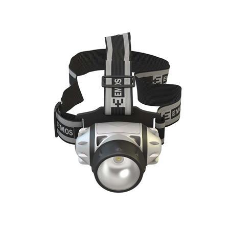 EMOS Čelovka na 3x AAA, 1x LED 1W *P3510; 1441073100