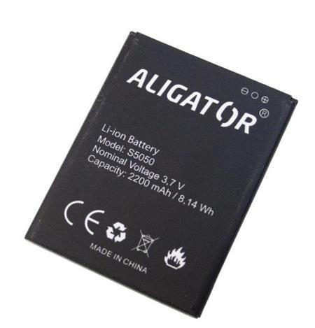 Baterie ALIGATOR S5050 Duo, Li-Ion 2200 mAh, bulk; AS5050BAL