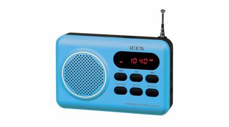 Radio Ices IMPR-112 modrá