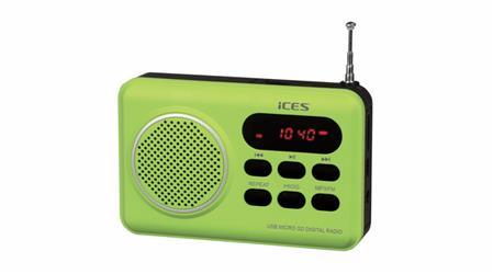 Radio Ices IMPR-112 zelená