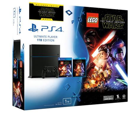 Sony PS4 Playstation 4 1TB ++ LEGO Star Wars: The Force Awakens + BD film Star Wars 3 - herní konzole