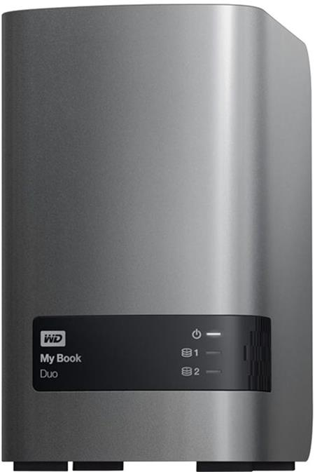 WD My Book DUO 16TB; WDBLWE0160JCH-EESN