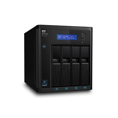 WD My CLOUD PR 4100, 16 TB; WDBNFA0160KBK-EESN