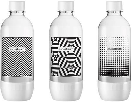 SODASTREAM Lahev TriPack Black&White 1l; 42002132
