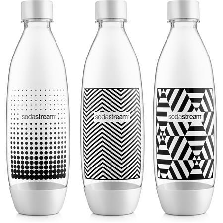 SODASTREAM Lahev TriPack 1l Fuse Black&White; 42002133