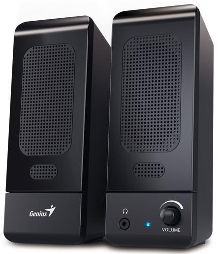 Genius SP-U120 reproduktory, 2.0, 1.5W, USB, černé; 31731057100