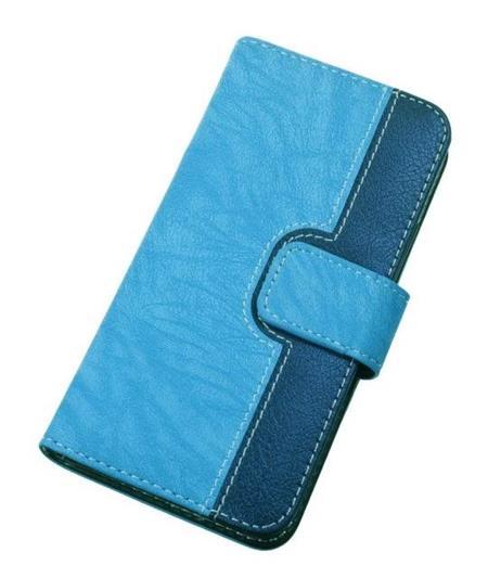 """Aligátor Pouzdro BOOK CHEERY velikost L (4,5""""- 5"""") blue; PBOCHELBE"""