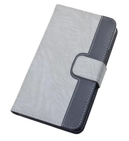 "Aligátor Pouzdro BOOK CHEERY velikost M (4""- 4,5"") grey; PBOCHEMGY"