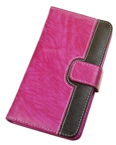 "Aligátor Pouzdro BOOK CHEERY velikost XL (5""- 5,5"") pink"