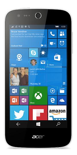 Acer M330 LTE, bílý