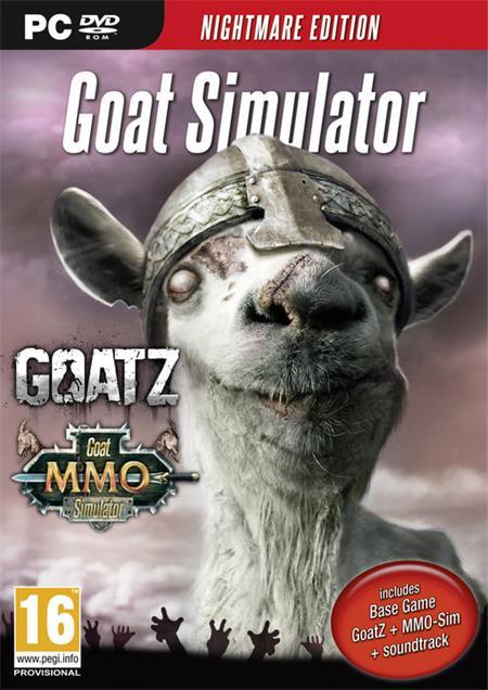 PC Goat Simulator - Nightmare Edition