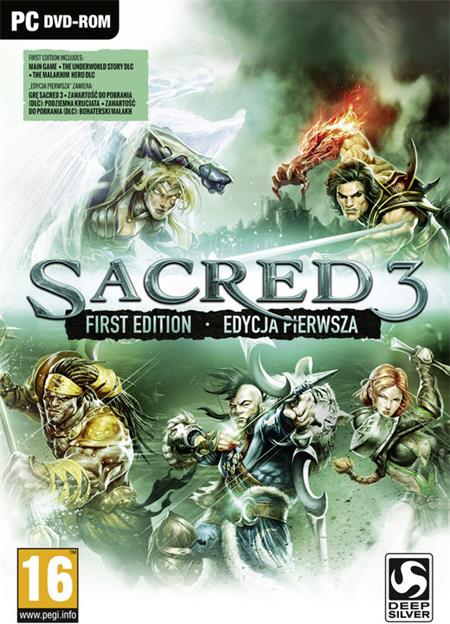 PC Sacred 3 - First Edition ; 5908305208495