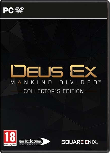 PC Deus Ex: Mankind Divided Collectors Edition; 5908305211723
