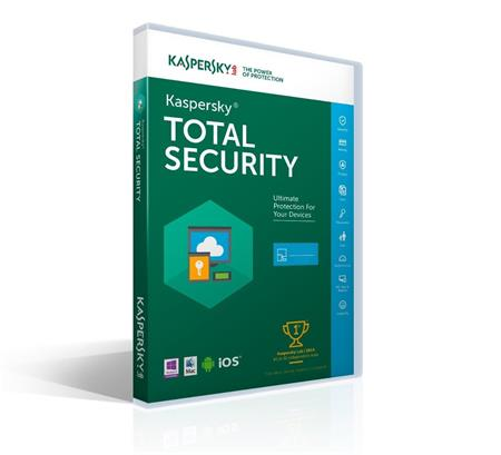 Kaspersky Total Security MD CZ 1PC/ 1rok; KL1919OCAFS