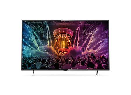 Philips 55PUS6101 - LED televize, 139cm, Ultra HD, DVB-T2/C/S2, Smart TV, black; 55PUS6101/12