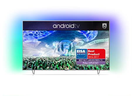 Philips 65PUS7601 - LED televize, 164cm, Ultra HD, DVB-T2/C/S2, Android TV, Ambilight 3; 65PUS7601/12