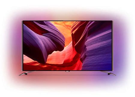 Philips 55PUS8601 - LED televize, 139cm, Ultra HD, DVB-T2/C/S2, Android TV, Ambilight 4; 55PUS8601/12