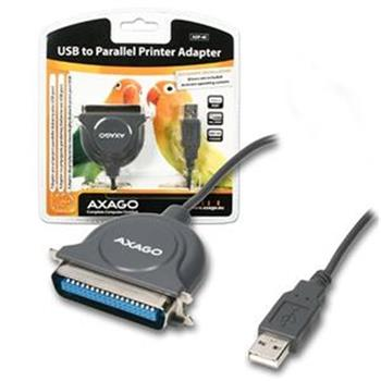 AXAGO USB2.0 - paralelní printer adapter