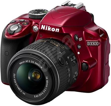 Nikon D3300 - zrcadlovka 18-55 VR II; VBA391K002