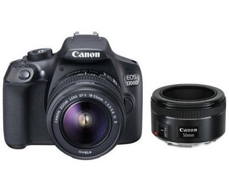 Canon EOS 1300D + 18-55 DC + EF 50 1,8 STM ; 1160C087