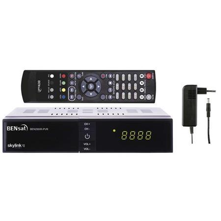 HD satelitní přijímač Bensat 290IR-PVR