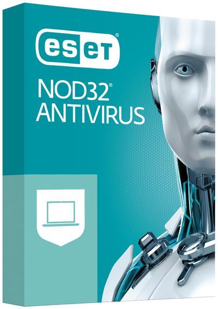 Licence ESET NOD32 Antivirus, 2 stanic, 1 rok; EAV002N1