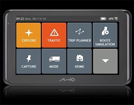 MIO Spirit 8670 GPS TRUCK ; 5420027526973