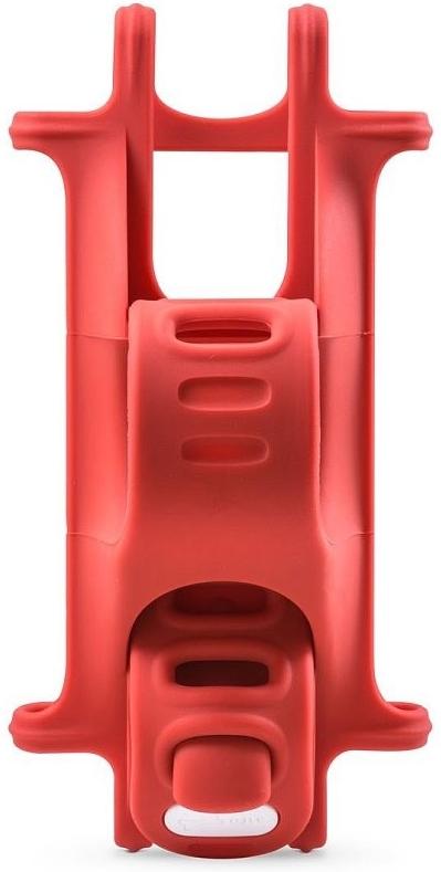 "BONE držák na kolo pro mobil 4-6"", Bike Tie-Red"