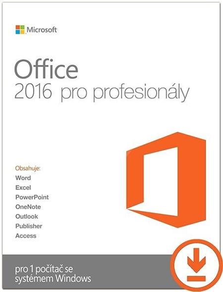 Office Pro 2016 All Languages ESD; 269-16805