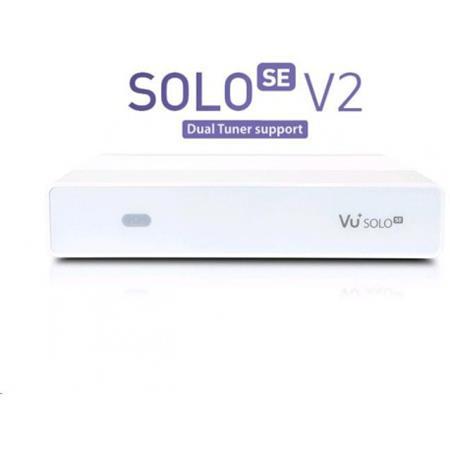 Vu+ SOLO SE V2 bílý (Twin tuner S2); VUSEW2
