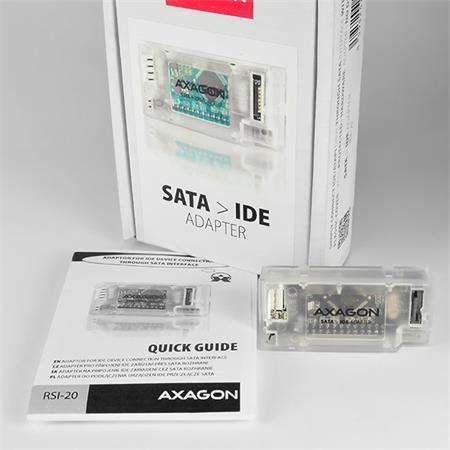 AXAGO SATA - IDE mini adapter interní; RSI-20
