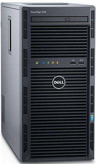 DELL PE T130 Xeon E3-1220 v5 / 8GB / 4x1TB SAS / H330 / RAID 1