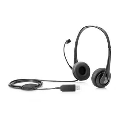 HP Stereo USB Headset; T1A67AA