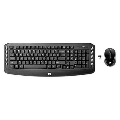 HP Wireless Classic Desktop - Czech; LV290AA#AKB