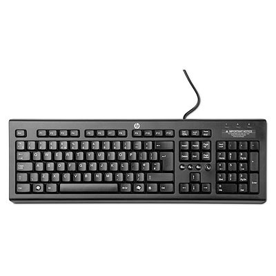 HP Classic Wired Keyboard - Czech
