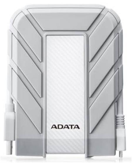 """ADATA HD710A - HDD, externí, 2TB, 2.5"""", USB 3.0, vodě/nárazu odolný, bílý"""