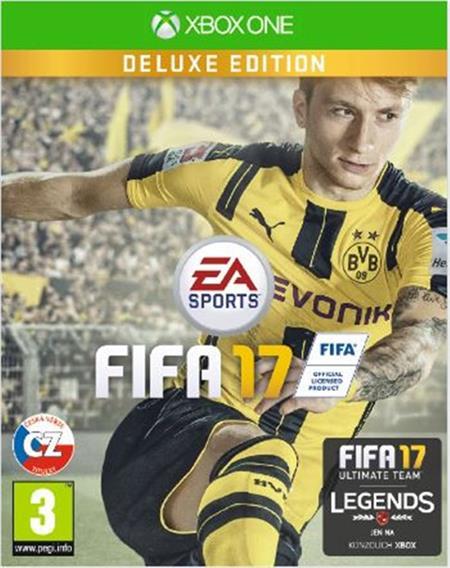 XONE FIFA 17 DELUXE - 29.09.2016