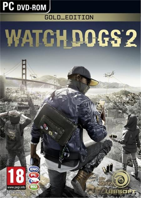 PC Watch_Dogs 2 Gold Edition - 29.11.2016