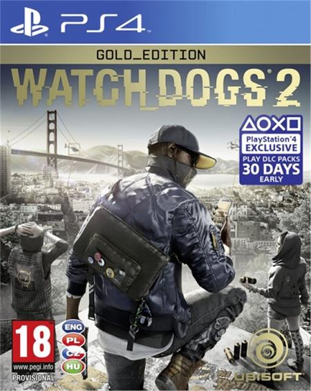 PS4 Watch_Dogs 2 Gold Edition - 29.11.2016