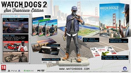 PS4 Watch_Dogs 2 San Francisco Edittion - 15.11.2016. ; USP484101