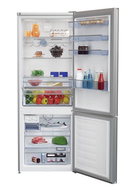 BEKO CNE 520 EE0ZGB Chladnička kombinovaná s mrazákem dole, A+++; CNE 520 EE0ZGB