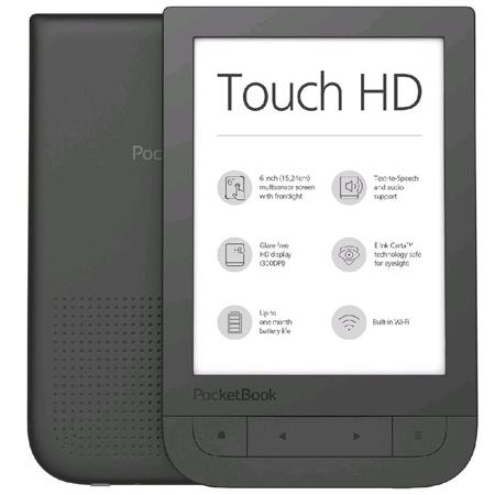 Pocketbook 631 Touch HD, černý; PB631-E-WW