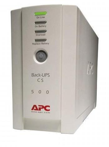 APC Back-UPS CS 500I; BK500EI