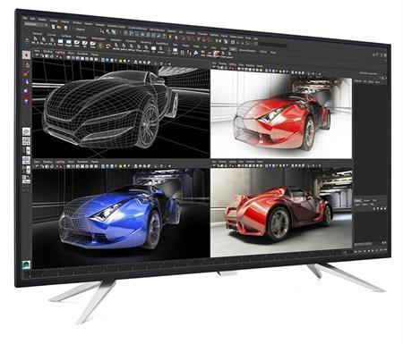 "LED Philips 4350UC-UHD 43"", IPS,IPS,2xDP,HDMI,rep"