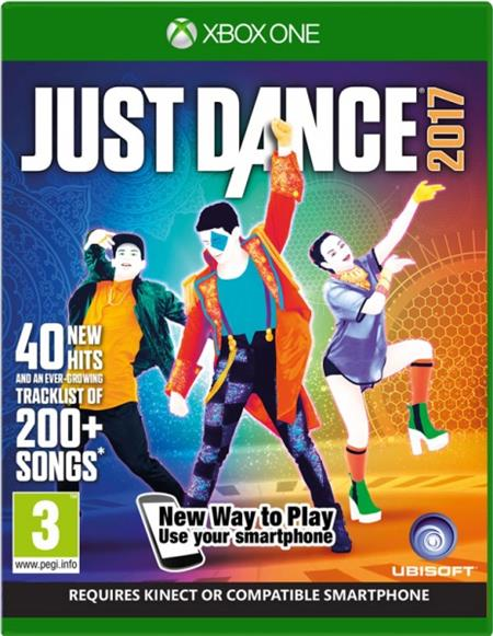 XONE Just Dance 2017 Unlimited - 29.12.2016; USX303621