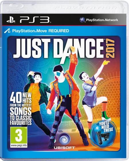 PS3 Just Dance 2017 - 29.12.2016