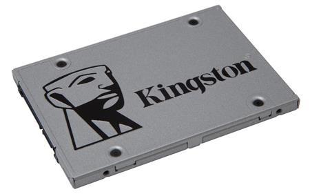 """Kingston 960GB SSDNow UV400 SATA 3 - pevný disk, interní, 960GB, 2,5"""", SATA3, SSD, stříbrný; SUV400S37/960G"""