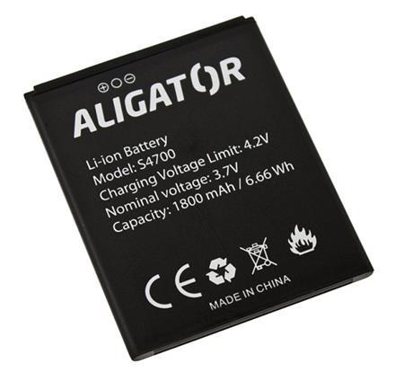 Baterie ALIGATOR S4700 DUO, Li-Ion 2000 mAh, bulk; AS4700BAL