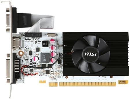 MSI VGA N730K-1GD5LP/OCV1 - grafická karta; N730K-1GD5LP/OCV1