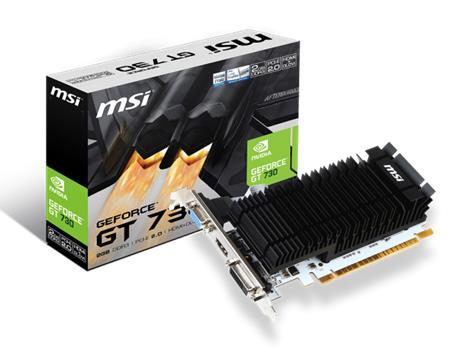 MSI VGA N730K-2GD3H/LP - grafická karta; N730K-2GD3H/LP